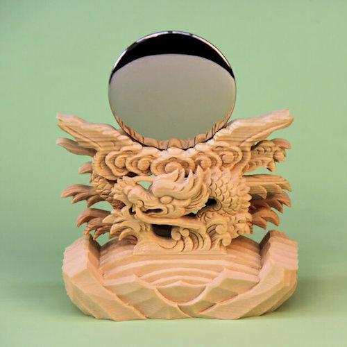 極上竜彫神鏡 日本製バージョン