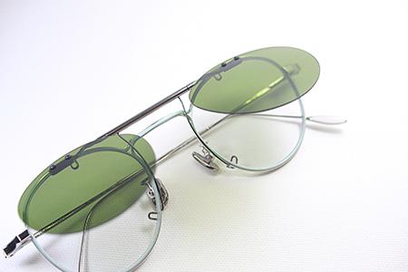 クリップオン サングラス オリジナル 製作 新潟県 見附市 長岡市 めがね店