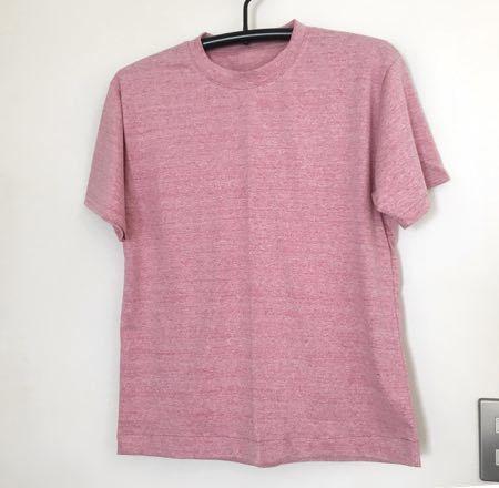 メンズTシャツピンク