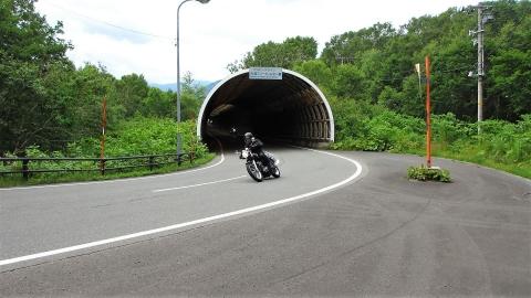 アスピーテラインはバイクの人達が一杯走ってました。自転車は一台も見なかった・・・。