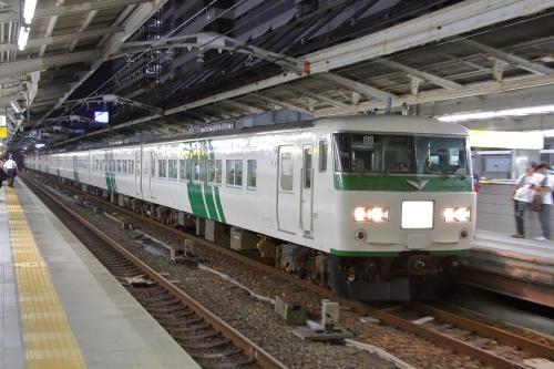 ムーンライトながら 名古屋駅