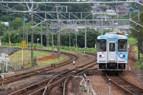 明知鉄道恵那駅