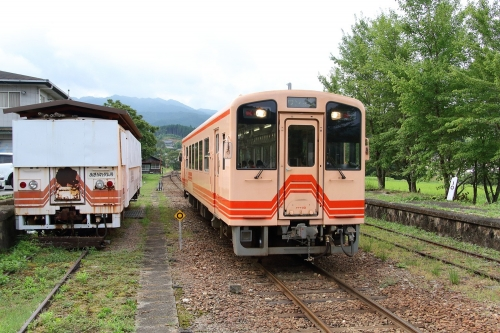 明知鉄道阿木駅