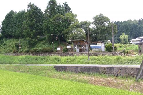明知鉄道飯羽間駅