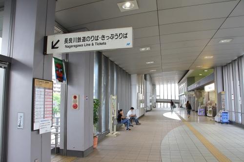 長良川鉄道美濃太田駅入口
