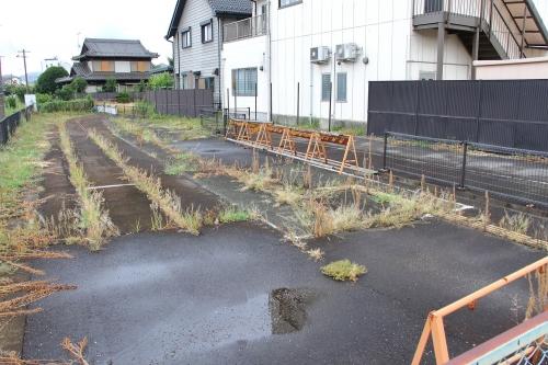 旧名鉄新関駅