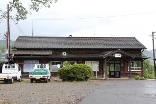 長良川鉄道大矢駅