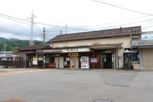 長良川鉄道美濃白鳥駅