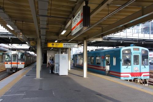 樽見鉄道大垣駅