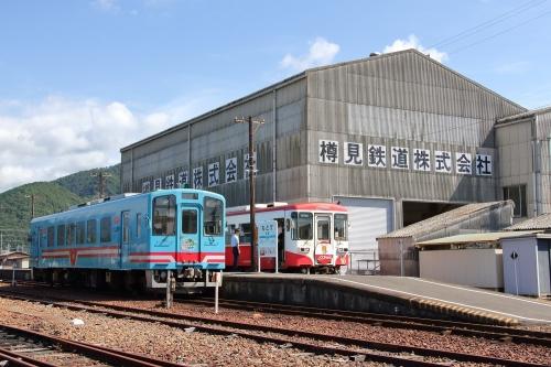 樽見鉄道本巣駅ホーム