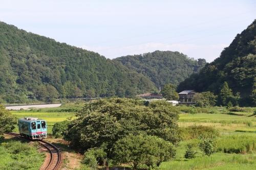 ハイモ330-700形気動車 木知原-谷汲口駅