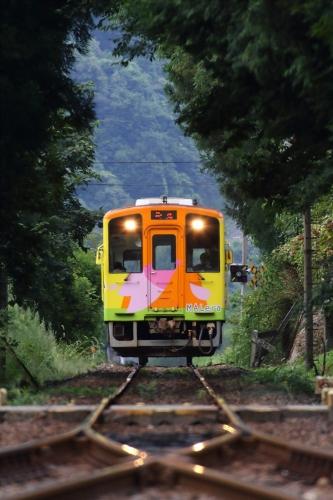 ハイモ330-700形気動車 神海駅