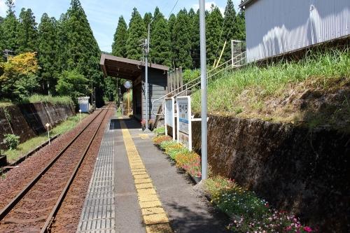 樽見鉄道鍋原駅