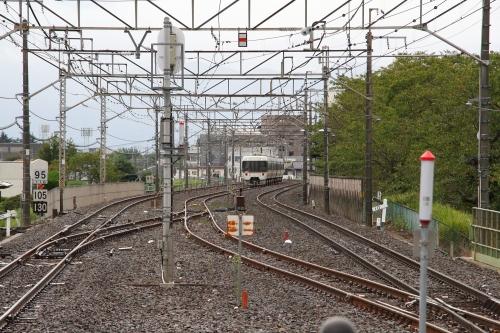 諏訪しなの号回送列車 韮崎駅