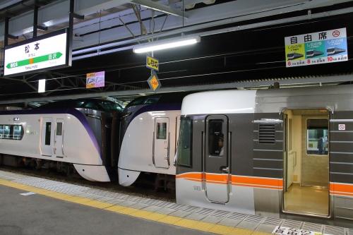 松本駅 あずさ・しなの