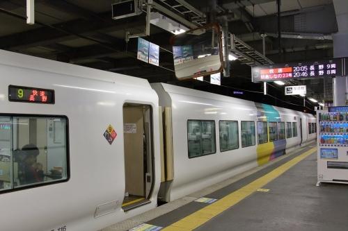 E257系電車「快速長野行き」