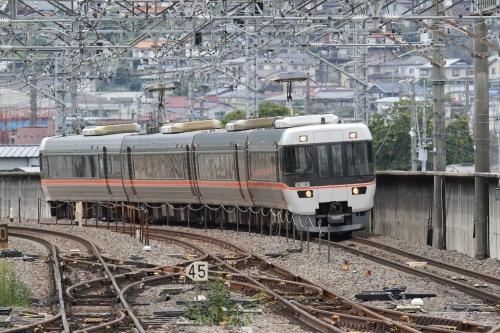 中央東線 383系電車「諏訪しなの」回送