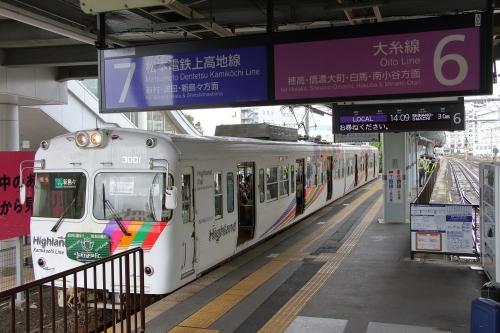 松本駅 6・7番ホーム