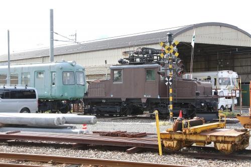 アルピコ交通 5000系電車+ED301電気機関車