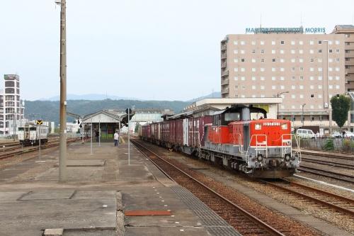 山陰迂回貨物9081レ 益田駅
