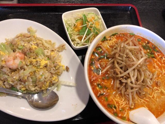 チャーハン タンタン麺