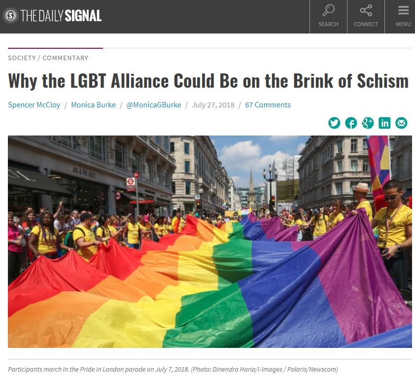 LGBT 分裂