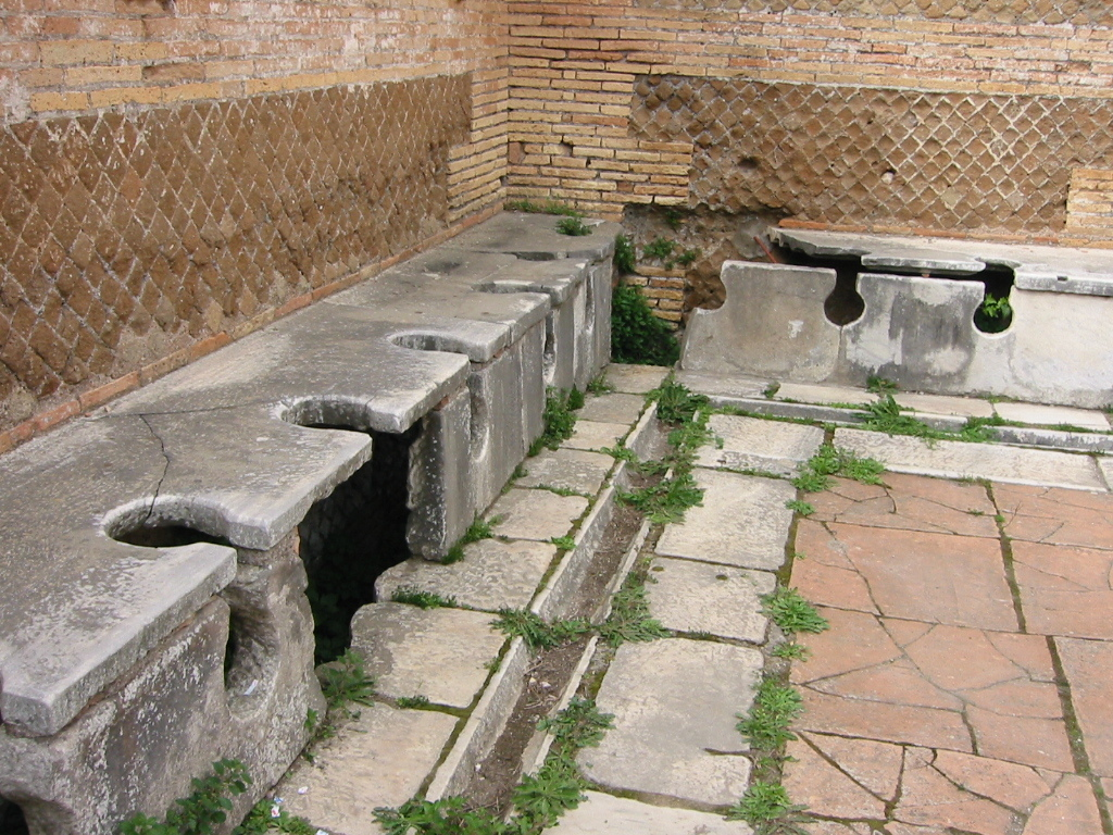 公共トイレ跡(オスティア・アンティカ)