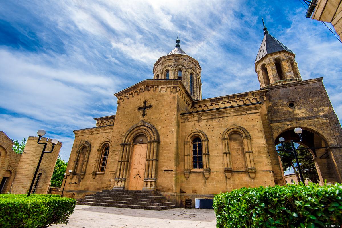 アルメニア教会の建物