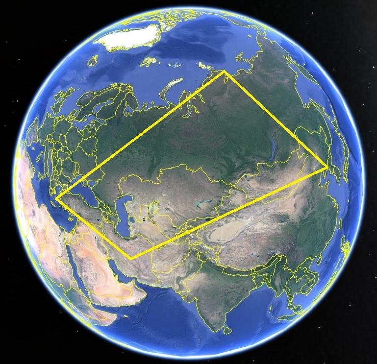 世界地図 丸三角四角 101