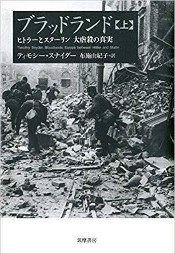 ブラッドランド 上: ヒトラーとスターリン 大虐殺の真実