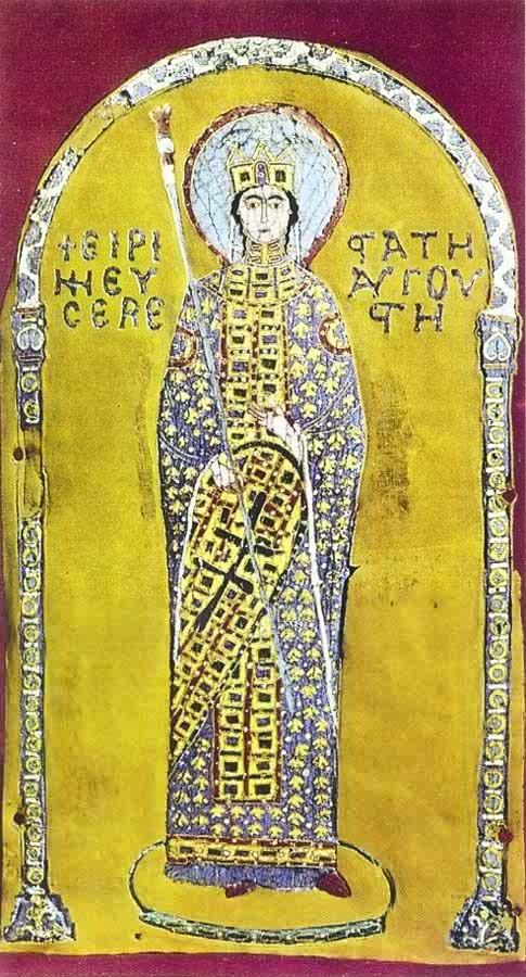 エイレーネーを描いた『黄金の祭壇画』