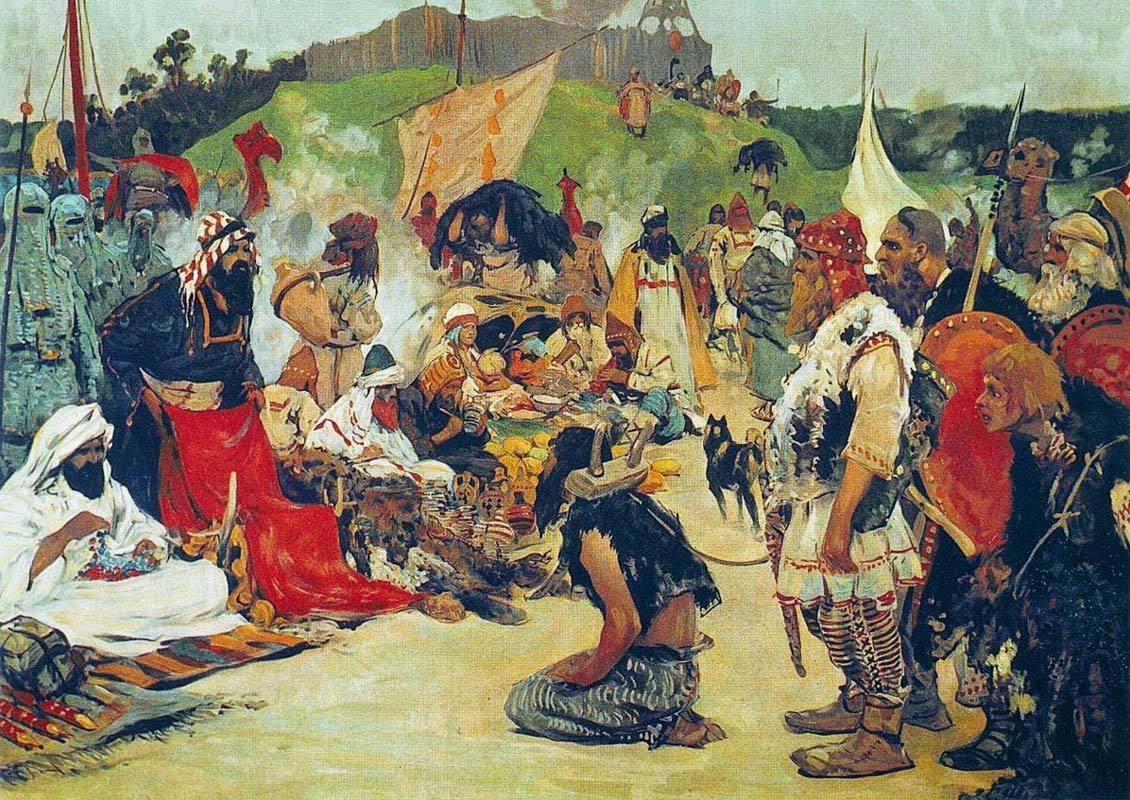 『中世初期東欧における奴隷貿易』 セルゲイ・イワノフ