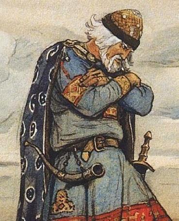 『ノヴゴロド公オレーグ』(ヴァスネツォフ画)