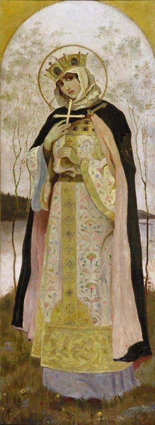『聖オリガ』(ミハイル・ネステロフ)1892年