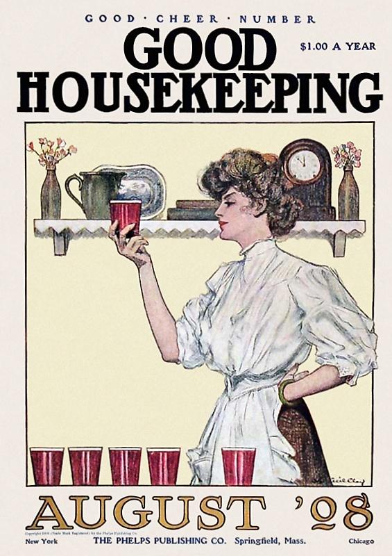 主婦の雑誌(アメリカ1908年)
