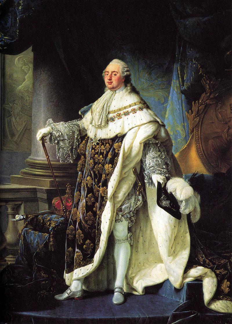 ルイ16世(アントワーヌ=フランソワ・カレ画、1788年)