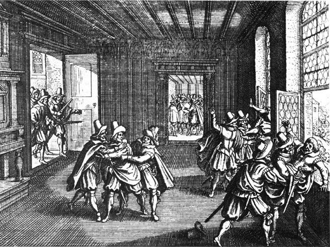 1618年のプラハ窓外投擲事件