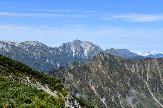 蓮華岳03剱岳、赤沢岳