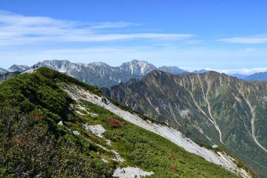 蓮華岳04立山方面