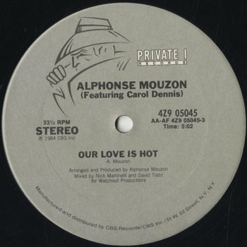 DG_ALPHONSE MOUZON_OUR LOVE IS HOT_20180821