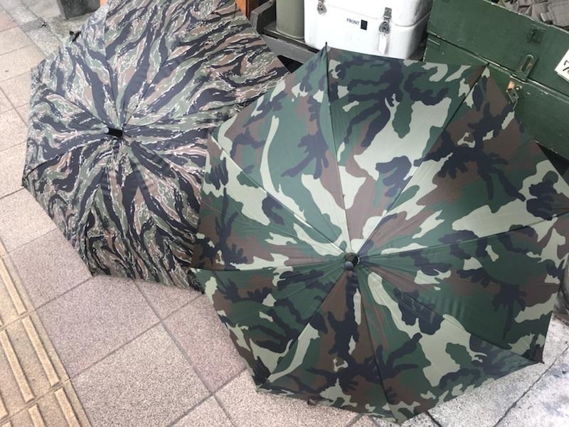 カモ柄の傘。【横田店】