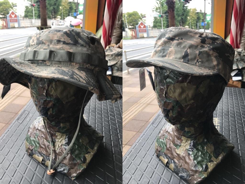 移り変わりゆく。ABU迷彩の帽子【横田店】