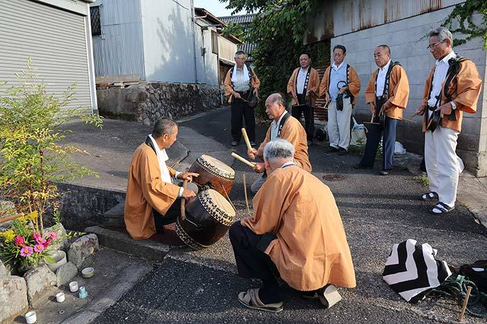 八島の六斎念仏1