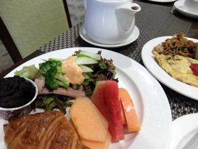 KLブルネイ104ラディソン朝食