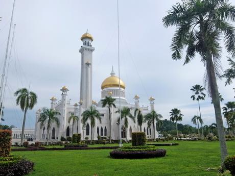 KLブルネイ115オールドモスク