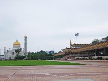 KLブルネイ121オールドモスク