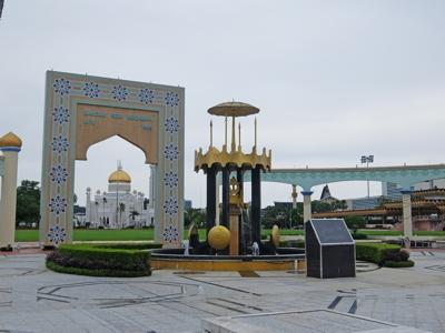 KLブルネイ122オールドモスク