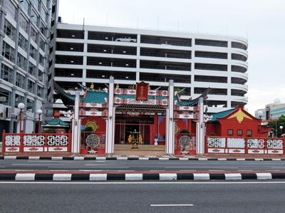 KLブルネイ125ブルネイ中国寺院