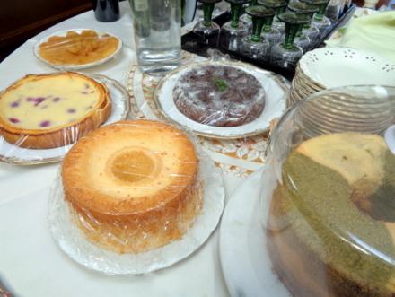 直美さ手作りケーキ4種