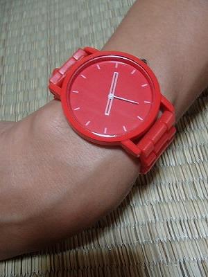 今日の腕時計